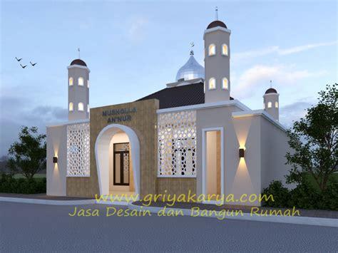 desain pagar masjid contoh karya griya karya