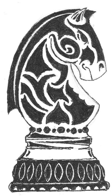 chess knight by brutus phoenix on deviantart
