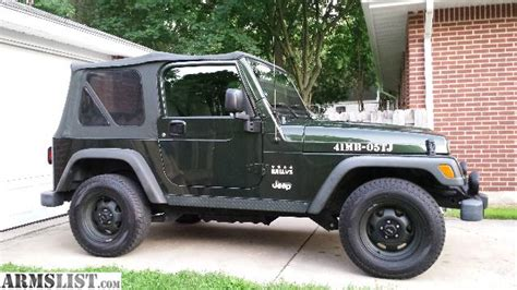 2005 Jeep Wrangler Willys Edition For Sale Armslist For Sale 2005 Jeep Willys Edition Wrangler