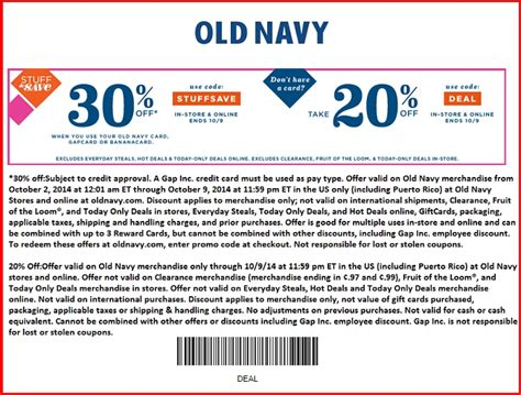 Old Navy Printable Coupons May | old navy printable coupons may with old navy printable