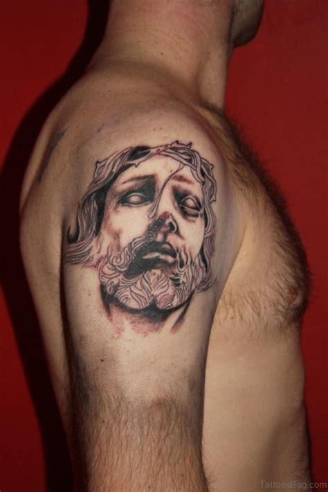 72 Stylish Jesus Tattoos For Shoulder K Design Tattoo