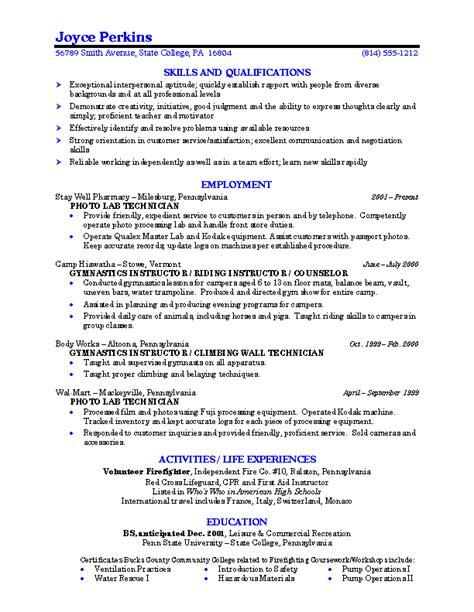 5 resume for college student ledger paper
