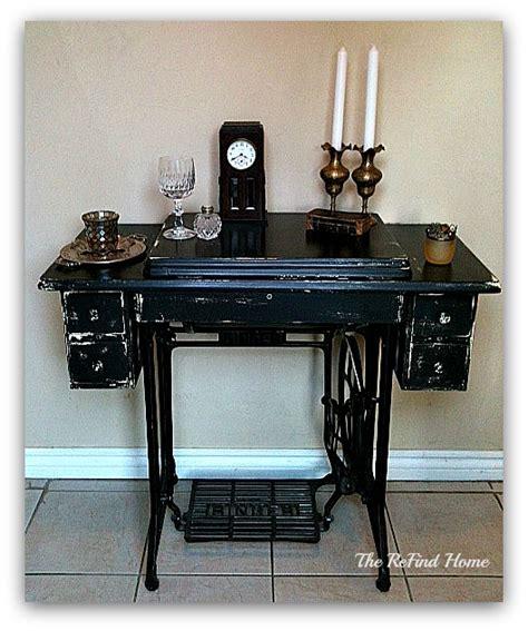 hometalk vintage singer sewing machine redo