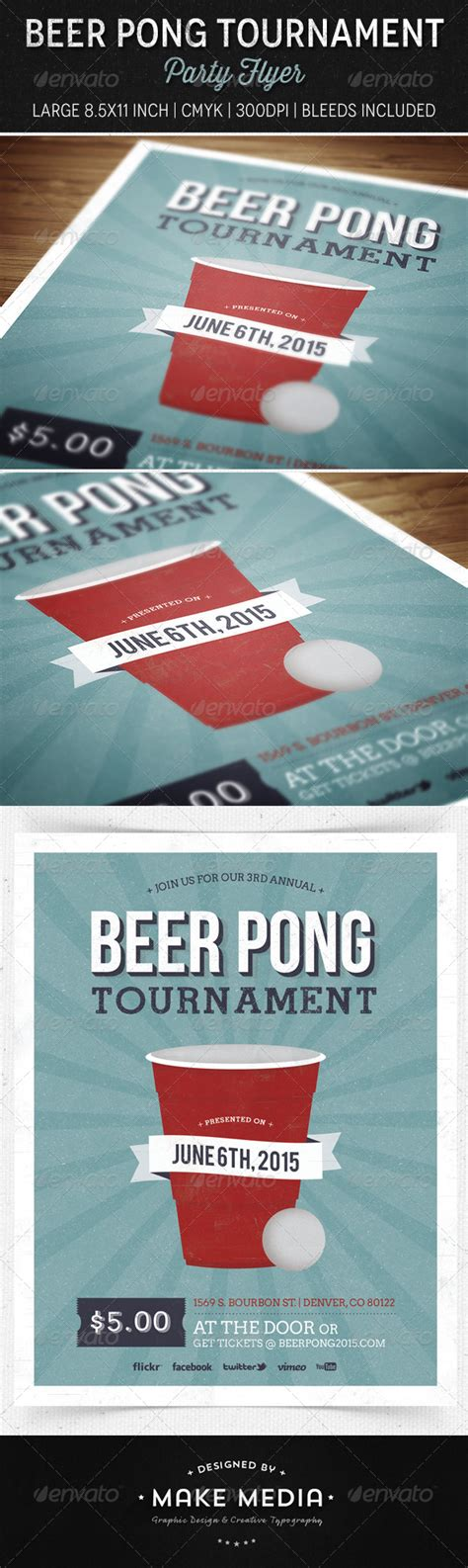 Beer Pong Tournament Flyer Free Psd 187 Tinkytyler Org Stock Photos Graphics Ping Pong Tournament Flyer Template