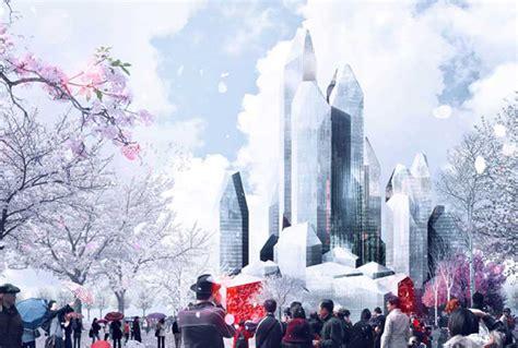 ice city harbin ice hotel lava evolo architecture magazine