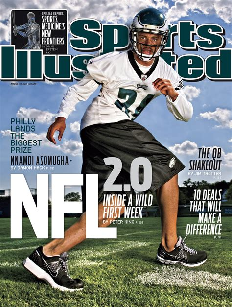 Sports Covers by Sports Illustrated Cover Nnamdi Asomugha 1 Danpatrick