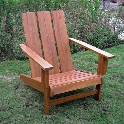 adirondack patio chair adirondack patio chair in honey pecan tt dc 022 stn