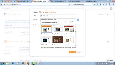 tips membuat novel cepat cara membuat blog cepat mudah gratis black orchid