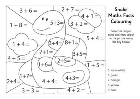 Math Coloring Pages Free 19 Free Addition Color By Number Collections Gianfreda Net by Math Coloring Pages Free