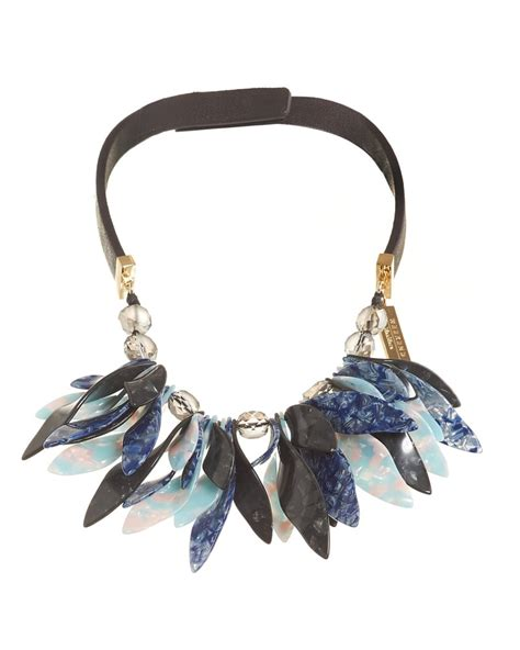 Maxmara Choco Black Navy max mara weekend womens perigeo necklace black navy petal choker