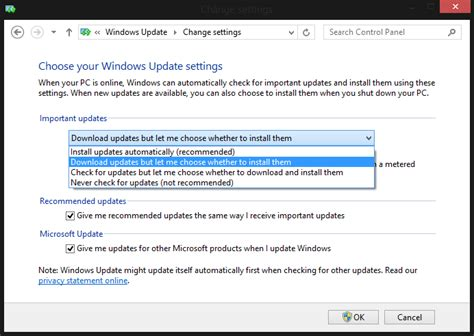 how to a to stop how to stop windows 8 installing updates automatically pc advisor