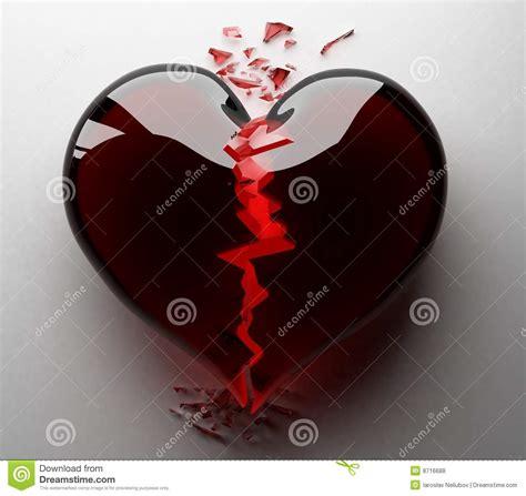 imagenes negras con corazones el negro del coraz 243 n roto stock de ilustraci 243 n