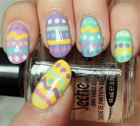 easter nail designs flashback friday easter egg nail art swatch and learn