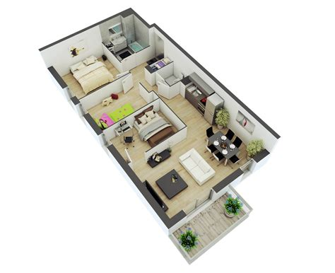 how to make 3d floor plans 25 more 2 bedroom 3d floor plans