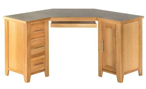 Small Oak Corner Computer Desk Oak Corner Computer Desks For Home Small Corner Desks Best Corner Writing Desk Furniture Designs