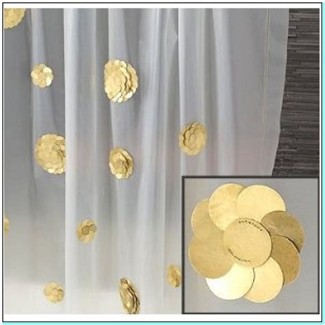 gold curtains white house white and gold shower curtains torahenfamilia com white