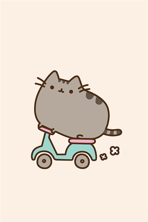 Pusheen Cat Wallpaper Iphone | pusheen the cat iphone wallpaper wallpapersafari