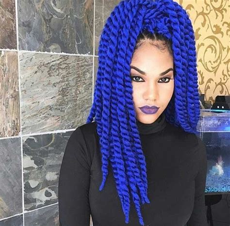 colors of marley hair 29 blue hair color ideas for daring women marley twists