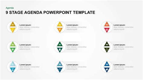 steps agenda powerpoint template keynote