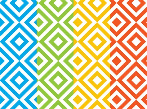 free pattern in vector square patterns set vector art graphics freevector com