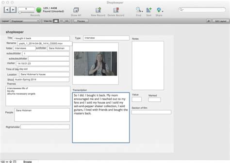filemaker workflow documentary workflow how a walter murch spreadsheet can