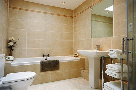 Family Bathroom by Cottage A Fabulous Coastal Cottage With Stunning
