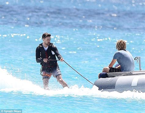 Biels In A On A Boat by Justin Timberlake And Biel Show His And Hers