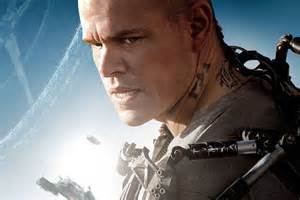 matt damon elysium the wrap up enter elysium with a new poster and concept