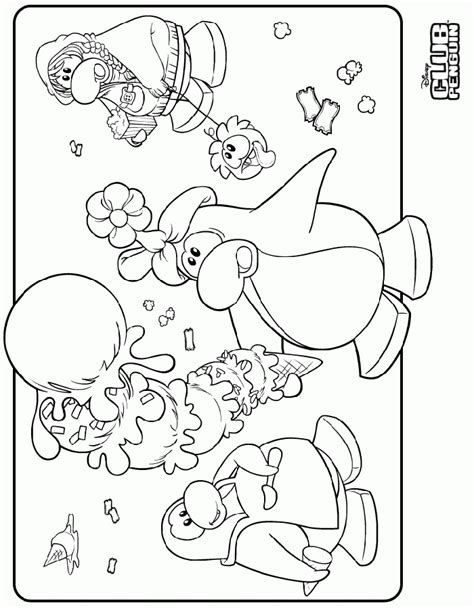 puffle coloring pages coloringpagesabc com