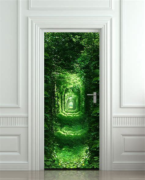Door Decal by 10 Cool Wall Door Stickers Murals Decoholic