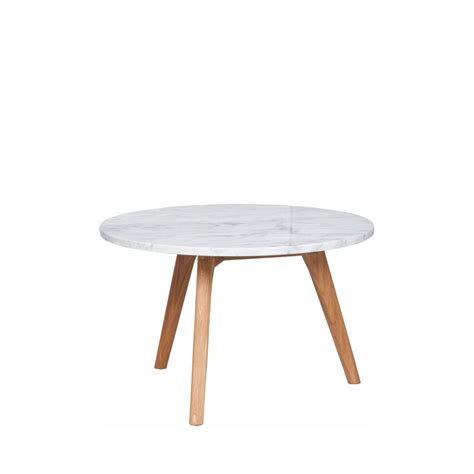 Table Basse Ronde Marbre by Table Basse En Marbre Blanc Style Scandinave Zuiver