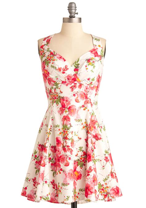 Maxi Flowbor Pink Ab you are cherry welcome dress in blossoms mod retro