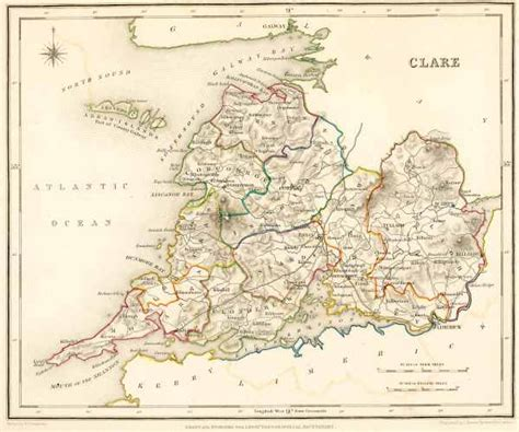 Clare County Records Map Of Co Clare21 Jpg