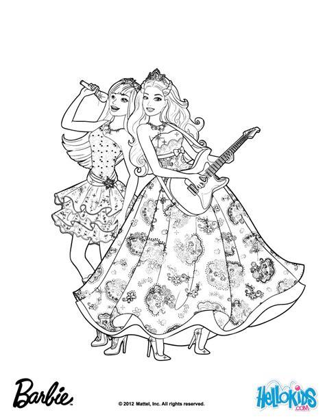 princess tori and keira popstar coloring pages hellokids com