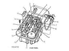 1989 ford ranger fuse box diagram wiring diagram and fuse box diagram