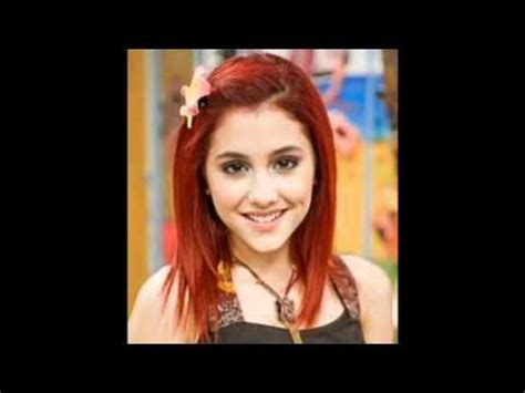 whats wrong with ariana grandes hair ariana grande red or brunette hair color youtube