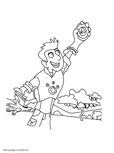 kratts coloring page kratts coloring pages for az coloring pages