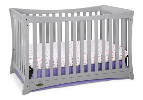 Graco Crib Models by Graco Tatum 4 In 1 Convertible Crib Pebble Gray