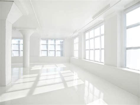 white daylight tribeca studios  movable furniture
