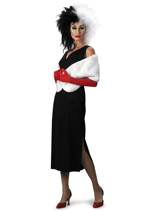 halloween costumes adult cruella de vil costume