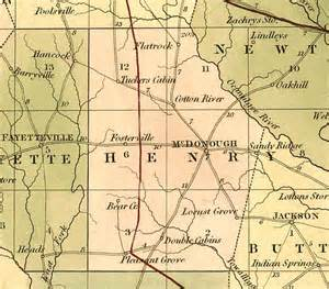 historical maps of henry county