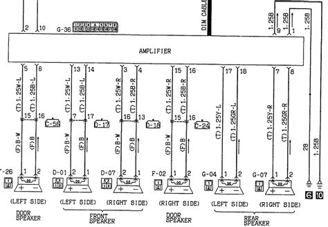 2003 mitsubishi lancer radio wiring diagram wiring diagram