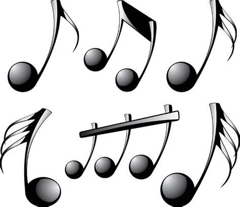 clipart note musicali 3d vettoriale di note musicali clip clipart gratis