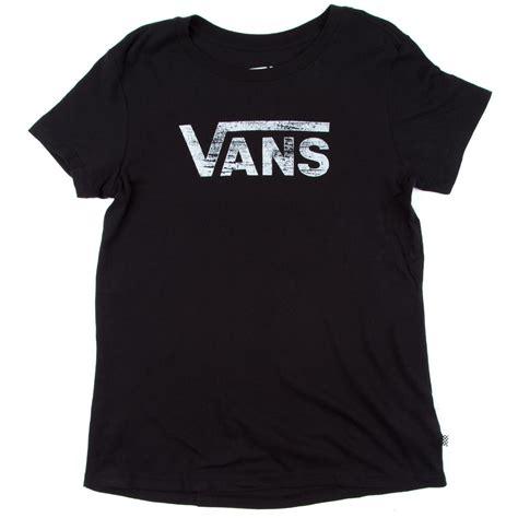 T Shirts Vans Vans Logo vans authentic logo t shirt black
