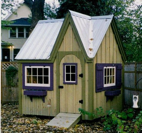 doll house shed dollhouse garden shed diy plans 8x8 cottage playhouse storage shed tiny house