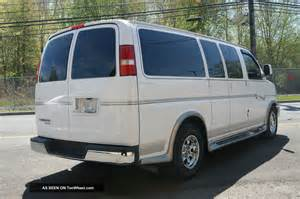 2008 chevrolet express explorer conversion