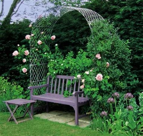 Metal Garden Arbor Bench Beatiful Garden Arches Arbors And Pergolas Creating