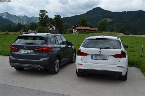 size difference between bmw x3 and x5 2016 bmw x1 f48 compared with 2012 bmw x1 e84