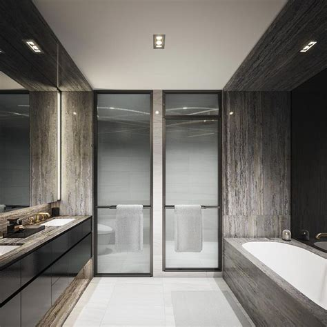 modern australian bathrooms bathroom australian luxury bathroom with brown tiles and