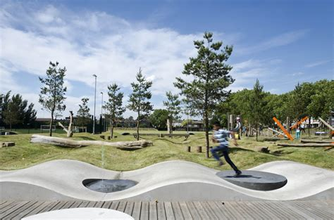 Archdaily Landscape Drapers Field Kinnear Landscape Architects Archdaily
